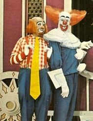 Bozo the Clown & Cooky - cjhildhood summers spent watching this show at our grandparents' house in Chicago during lunch.