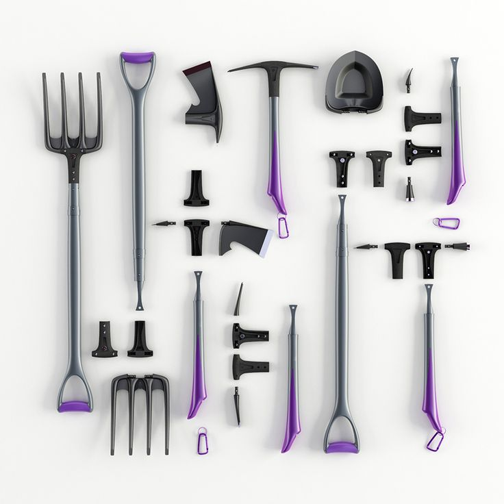 Bored of heavy, cumbersome traditional hand tools? Modular Hand Tools was designed as an innovative set consisting of modular pieces that make it easy