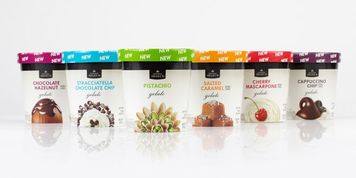 Safeway Select® Gelato - The Dieline -