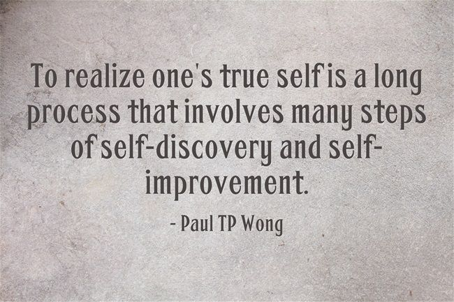 Al Inspiring Quote On Self Discovery: Process Improvement Motivational Quotes. QuotesGram