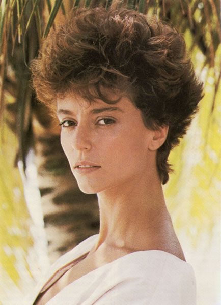 I sported Rachel Ward's Against All Odd look for most of the 80's.