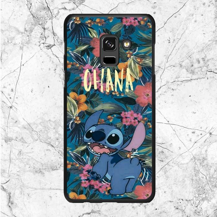 Disney Stitch Ohana Quotes Samsung Galaxy A6 Plus 2018 Case Sixtyninecase Stitch Disney Samsung Galaxy S7 Cases Phone Cases Samsung Galaxy