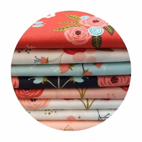 11 Fat Quarter Bundle - Happy Thoughts Collection - Camelot Fabrics – Pins & Needles Fabrics