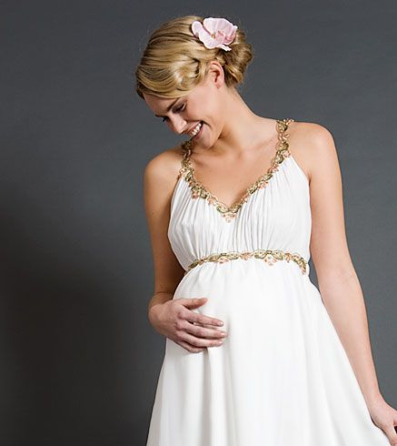 Grecian Maternity Dress - Maternity Wedding Dresses, Evening Wear and Party Clothes by Tiffany Rose