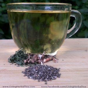 Chia Seed Herbal Tea Recipe