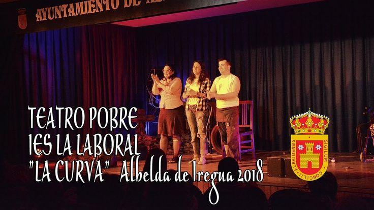 Teatro Pobre IES La laboral con La Curva en Albelda de Iregua 2018