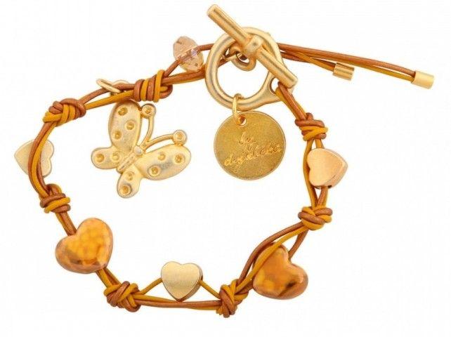 Купить Браслет с сердечками BY DZIUBEKA по цене 1 050 руб. в интернет магазине бижутерии StyleBiju