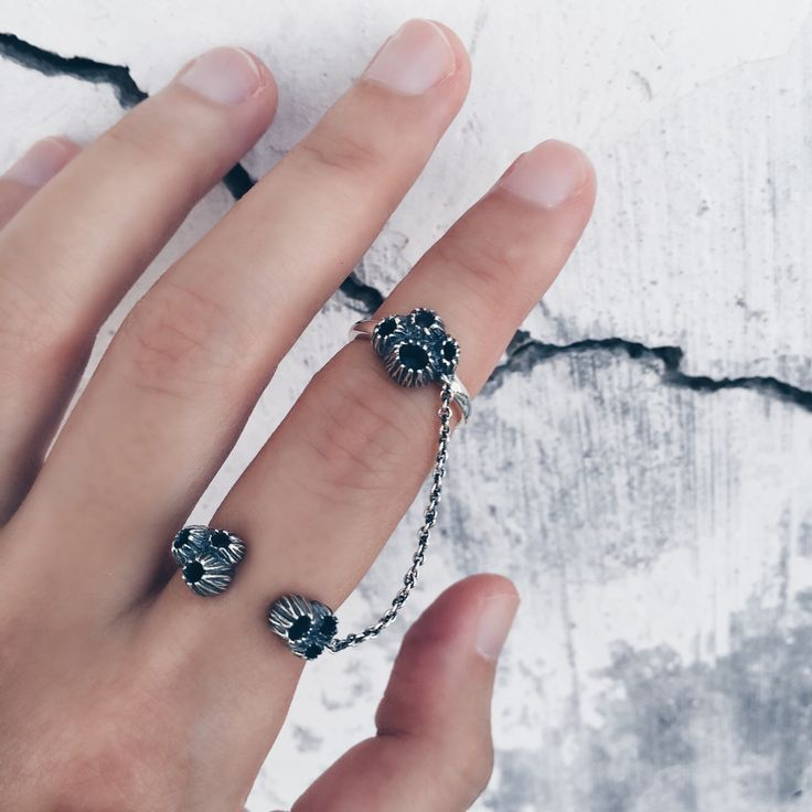 Barnacle Silver Stacking Rings | Shop Now | Inspired by beautiful clusters of barnacles on washed up shores | Endless stacked rings | Sterling silver Ode to the sea | Au Revoir Les Filles | Shop via website link