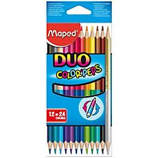 Creioane colorate Maped 24 culori
