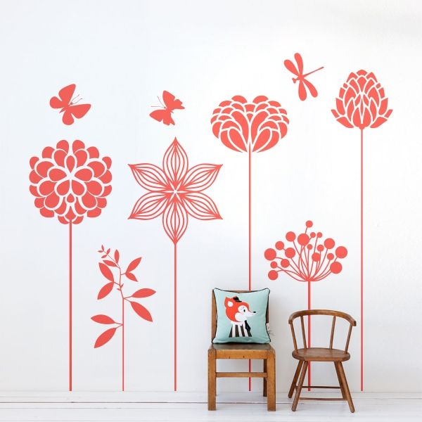 67 best images about naturaleza vinilos decorativos on for Vinilos mariposas