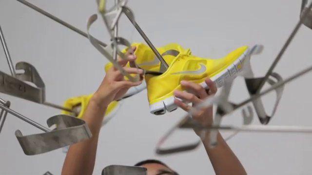 Nike free run+ installation  from Queenie Yehenala / Shane Hurt