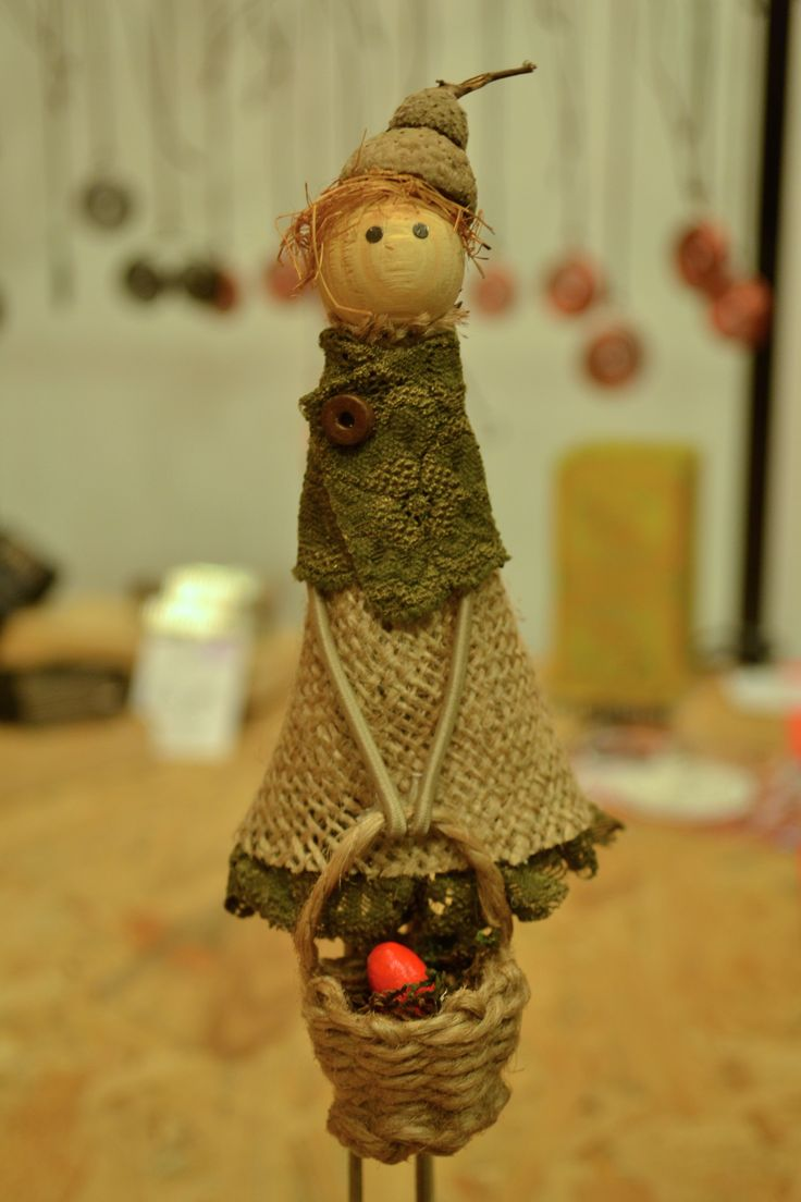 Handmade easter decoration