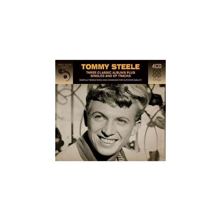Tommy Steele - 3 Classic Albums Plus (CD)