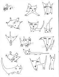 Resultado de imagem para Picasso and Cats   Drawings, Easy ...