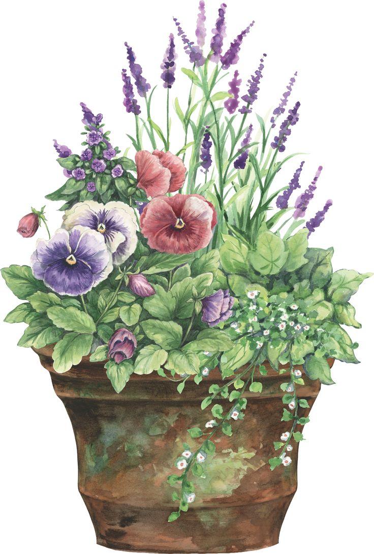 floral planter: