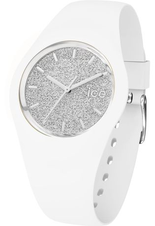 Montre ICE-Glitter - White/Silver - Unisex 001351 - Ice-Watch - Vue 1
