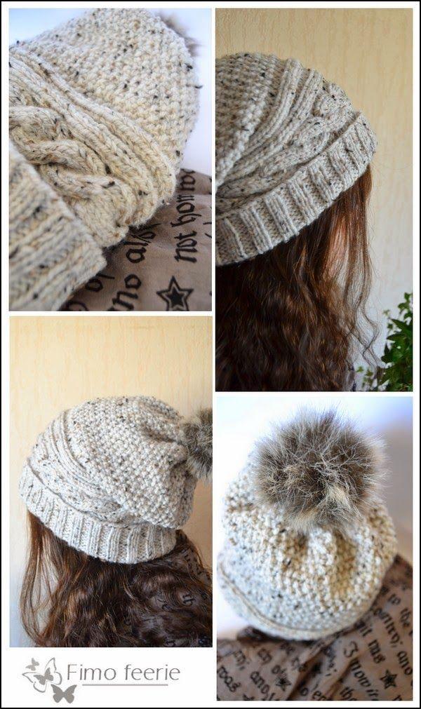 Tricot : bonnet