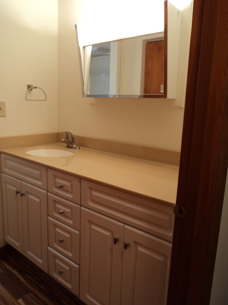 Bathroom vanity remodel completed projects photos Bathroom remodel pinterest