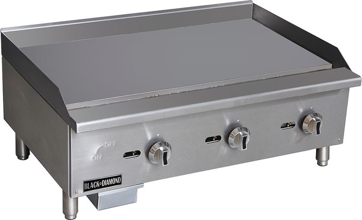 Check out the deal on Adcraft Black Diamond BDECTG-36/NG 36in Standard Series Griddle NG at Restaurant Equipment and Supplies Online : Restaurant Depot