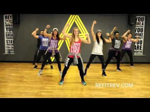 """""""Getcha Hands Up""""    Press Play    Fitness Choreography    Toning    REFIT® Revolution - YouTube"""