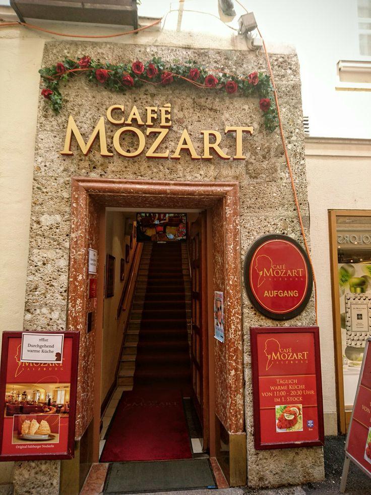 Cafe Mozart,salzburgo Austria