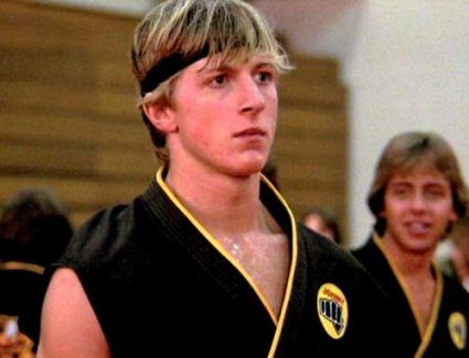 Johnny Lawrence!  I had the biggest crush on him... really?  (The Karate Kid)