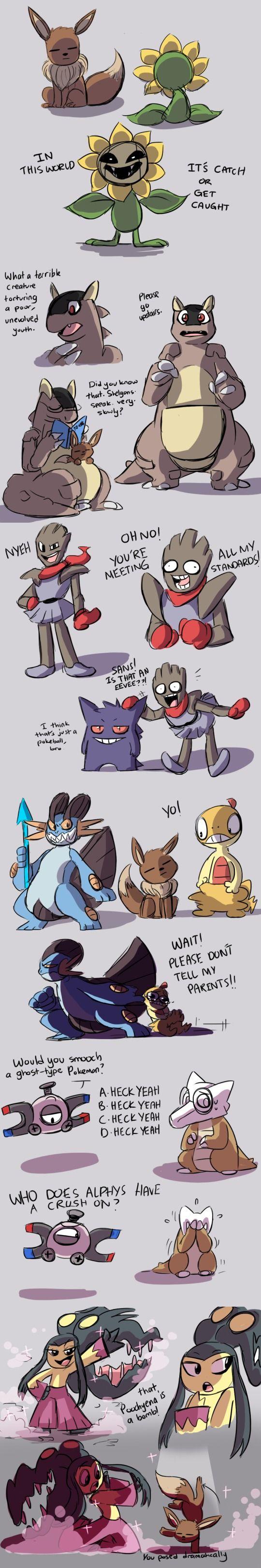 Undertale - pokemon parody