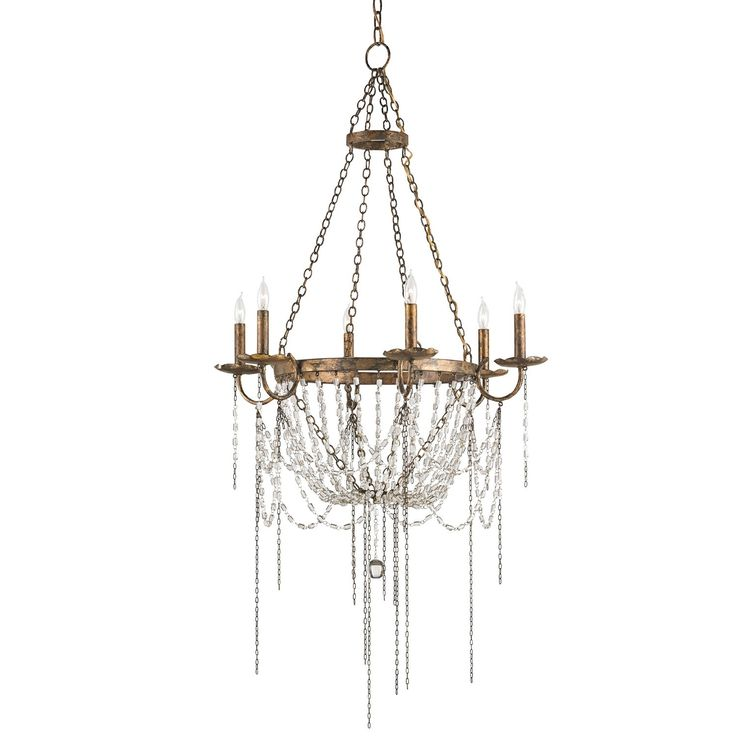 Currey & Company Prophecy Chandelier. #laylagrayce #curreyandco