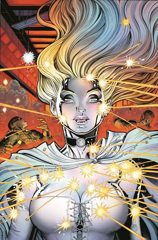 Emma Frost by Art Adams