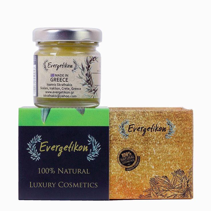 Здоровье, красота и личная гигиена: Крем для лица Evergetikon    Морщины и гусиные...