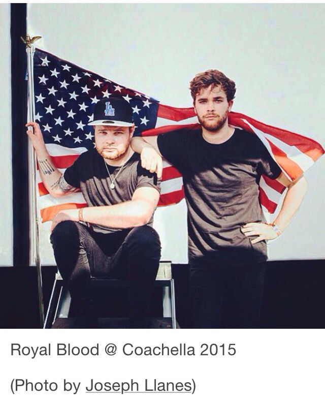 Royal Blood Mike Kerr and Ben Thatcher (photo from Tumblr)