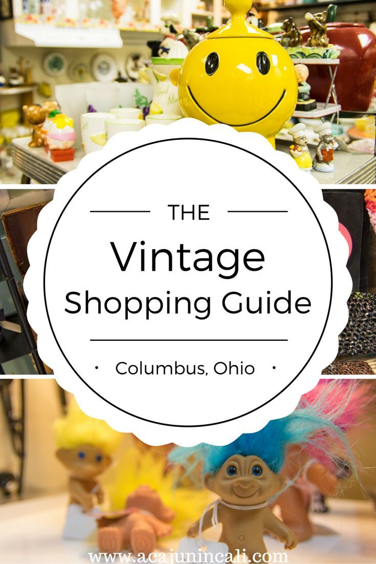 Columbus, Ohio, has so much to offer visitors! Click here for my list of essential vintage shops to hit while visiting the Short North