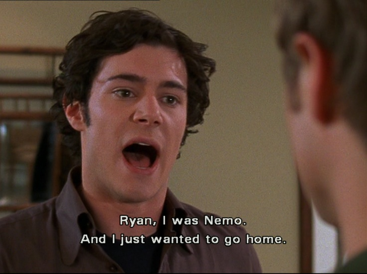 Addicted to The OC. Everything about it is perfect
