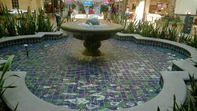 Fountain in Sunrise Mall, Citrus Heights, CA (suburb of Sacramento)