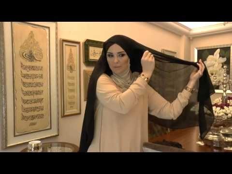 Gülsüm Elkhatroushi - Kare eşarp nasıl bağlanır? - YouTube