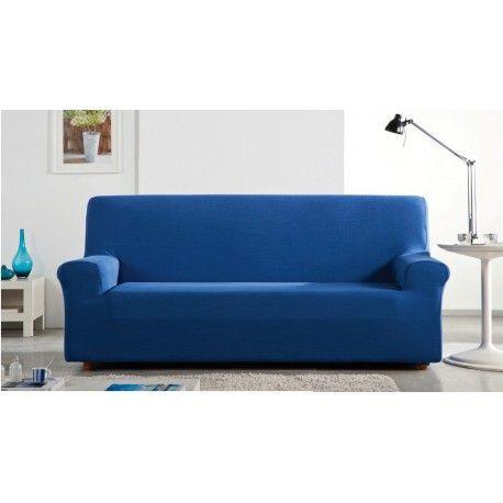 Funda de sofa Fidji. Protégete tu sofa de los roces y del uso diario con las fundas Fidji de la casa Zebra textil. Composición tejido 60% poliéster - 38% algodón - 2 poliéster que permite un facil mantenimiento en tu lavadora doméstica. Disponible en 8 colores diferentes burdeos, crudo, sable, vert anis, blue ocean, taupe, ebene y lin. Medidas:  1 Plaza: 70/ cm 2 Plazas: 130/ 170cm 3 Plazas: 170/ 170cm 4 Plazas: 210/ 240cm