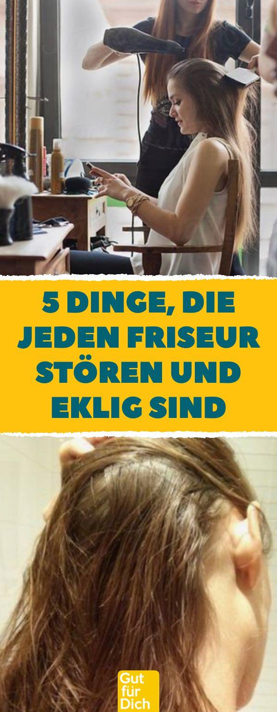 5 Dinge, die jeden Friseur stören und eklig sind. Dinge, die du beim Friseurbes...