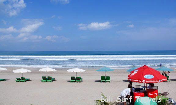 Bali Surf Travels: Legian Beach - Bali Favorite Surf Lessons Spot