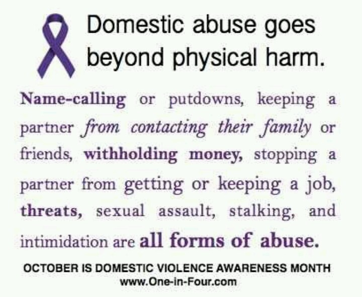 For men who abuse their families: If you are using any of these behaviors against
