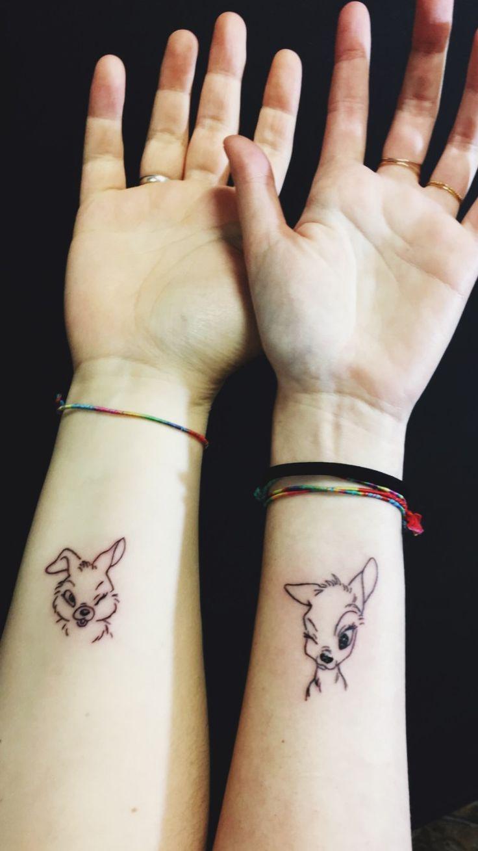 ❤ #Tattoo #Tattoos #Bambi #Tamburino #Disney