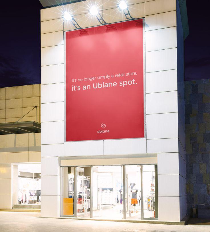 Ublane poster - billboard #ublaner #shiner #popupstore #poster #creative #spot