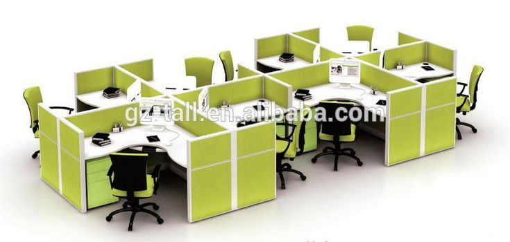 Best Selling Custom Made Soundproof Office Partition Modular Modern Cubicles