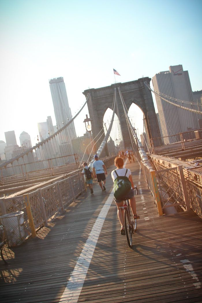 New York joined a growing list of major cities offering widespread bike-sharing and if you're visiting, it's a great way to see the city.