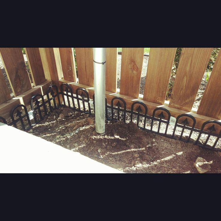Puppy proofing apartment deck area