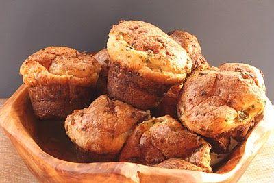 In Erika's Kitchen: Herbed cheese popovers #memories #recipe #baking