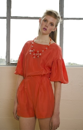 Penny Sage 'Anticipation' romper, SS 2013 capsule, from alwayssometimesanytime