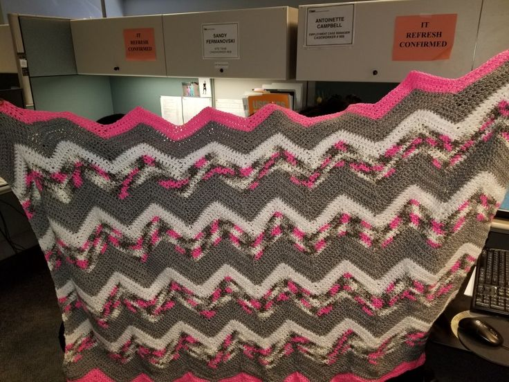 Made as a gift...throw blanket