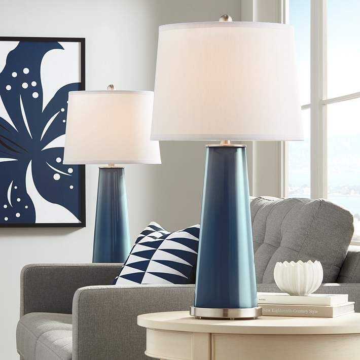 Naval Leo Table Lamp Set Of 2 17r51 Lamps Plus In 2020 Table Lamp Sets Modern Table Lamp Lamp Sets