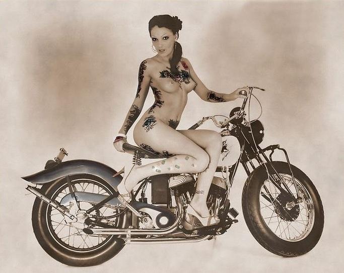 Inked Naked Bike