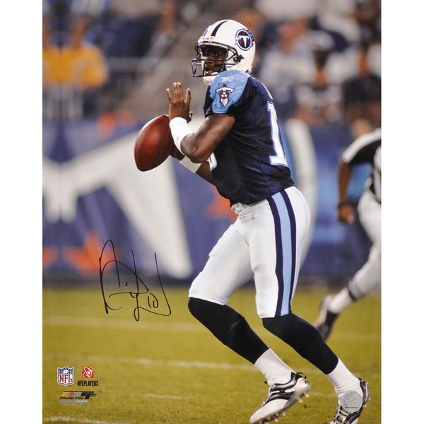 "Vince Young Tennessee Titans Fanatics Authentic Autographed 16"" x 20"" Action Photograph - $99.99"